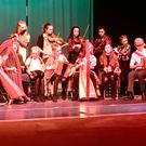 CCE Gorey Ballygarrett's senior musicians performing at the All Ireland Plearacha competition held in Clontarf, Dublin recently