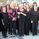 Gorey Choral Group at the competition in Arklow. Photo by Terry Loughran