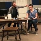 Padraic D'Arcy and Katie-May Byrne in rehearsals for 'Sive'
