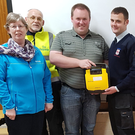 Carnew First Responders have been trained to use the life-saving defibrillators