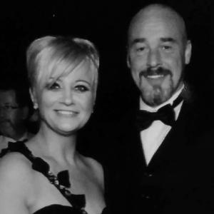 Sandra with husband Jimmy at least year's hospital ball