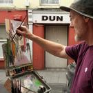 Tony Robinson at Art in the Open on South Matin Street, Wexford, last year.
