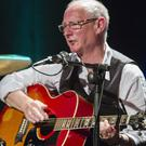 Billy Roche on stage in the Arts Centre