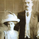 Cousin of the bride Alice Fitzsimons (Dublin), bride Julia Fitzsimons (Dublin), groom John Walsh and witness Patrick Ronan in 1912