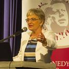 Minister for Children Katherine Zappone opening the Kennedy Summer School