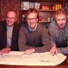 Fr. Richard Lawless, underpass chairman John Murphy, and Ford Fest organiser Raymond Byrne