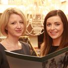 Ashdown Park Hotel staff members Catherine Murphy and Eimear Kenny
