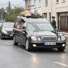 The funeral of Anne-Marie O'Gorman makes its way through Ferns