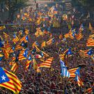 Catalan protests for independence