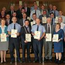 The launch of the Wexford Garda Youth Awards at Wexford County Council headquarters