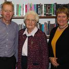 Brendan Daly, Sr. Madeleine Hayes, FCJ and Frances Threadgold, Principal