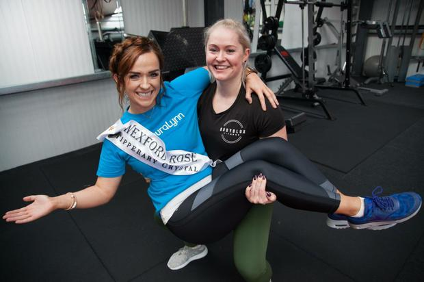 Wexford Rose Julie Sinnott with Bodyblox owner Louise O'Brien