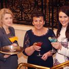 Launch of 'Frocktails and Cocktails' in support of Hope Cancer Support Centre in Enniscorthy. Event co-ordinator, Catherine Murphy, organiser, Josephine Casey and Edel Fleming from fayebella.com