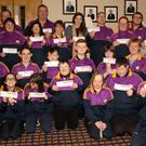 Mags D'Arcy launches the Wexford Special Olympics Draw in Wexford Golf Club