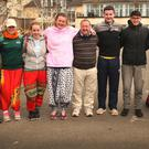 Gambia Youth Project participants arrive home after their eight-day trip to Gambia