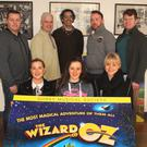 Front row: Genenieve Molloy, Grace Kehoe and Ciara Spellman; back row: Brendan Kenny, Mark Ivory, George Percival, Tomas Byrne and Malcolm Byrne
