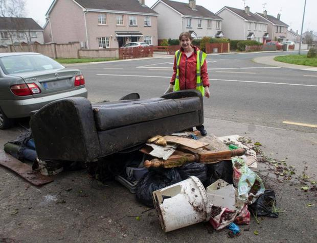 Gorey Tidy Towns volunteers gathered two and half large lorry loads of rubbish at their National Spring Clean event