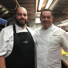 Head chef Val Murphy and Neven Maguire