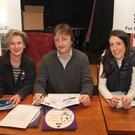 Outgoing officers of NWSPCA, fundraising manager Tracy Smith, chairperson Joe Murray and secretary Niamh Hendley