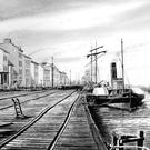Image of Wexford's Quays featured in Ernie Shepherd's new book, 'Wexford Harbour Commissioners: A History 1794-2010', which is being launched this week