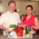 Chefs Ben and Amanda Anderson from Little Blue Cow Cakes