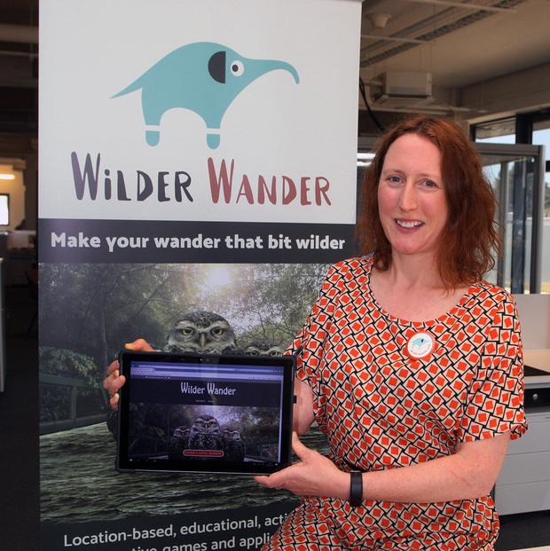 Founder of Wilder Wander Vicky O'Donnell