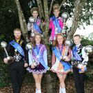 World champions, at back, Emma Murphy and Ciara Byrne; and front, Conor Long, Amy Long, Erin Fortune and Eoin Fortune