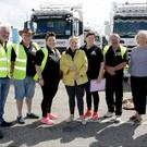 Ricky Breslin, Seamus Thompson, Anna Thompson, Verona Murphy, President, Irish Road Haulage Association, Mary Rice, Con Morris, Madeline Quirke, Friends of Wexford General Hospital, and Sean Horan