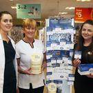 Pharmacist Theresa Clare, Imelda O'Connor and store manager Karen Mayler