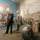 A guided tour in progress at the National 1798 Centre