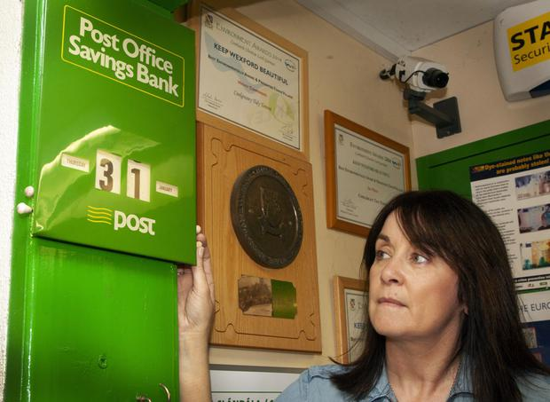 Coolgreany postmistress Norah Finn looks ahead to D-Day when the post office shuts its doors