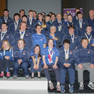 County Wexford members of the Leinster Special Olympics Team with their coaches and Wexford Co Council Chairman Keith Doyle at the civic reception in their honour