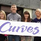 Curves proprietors Fionn McDonagh and Roisin Hearns (centre) with staff members Yvonne Kinsella and Lauren Ramsey