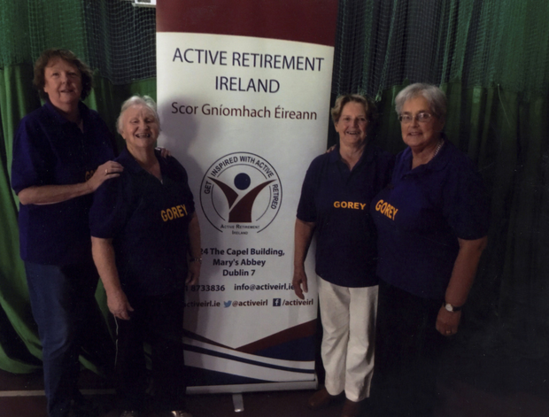 The Gorey Active Retirement bowls team 'Just Gorey' (from left): Ann Ward, Eileen Kealy, May Hurley and Anne Slator