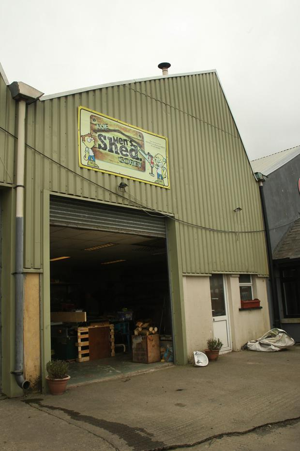 Gorey Men's Shed is in danger of closing