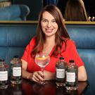 Marie Byrne from Askamore at the launch of Chinnery Gin, a Dublin Dry Gin with Osmanthus and Oolong, by Chinnery Spirits