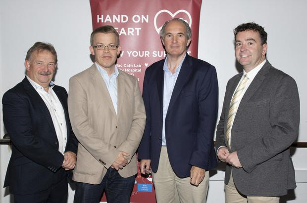 Liam Spratt, Dr Aidan Buckley, Matt Shanahan and Ray Griffin, lecturer in Business, WIT