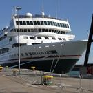 Cruise ship the MV Braemar in Rosslare Europort in 2016