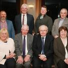 At the launch of the All-Ireland One Act drama festival at the Upton Court, Kilmuckridge were, front row: Cllr Mary Farrell, festival chairman Liam Buttle, ADCI chairman Aidan Reidy and Annette O'Connor, secretary. Back row: festival director Michael Johnston, Cllr Pip Breen, Cllr Malcolm Byrne and committee member Aidan O'Connor