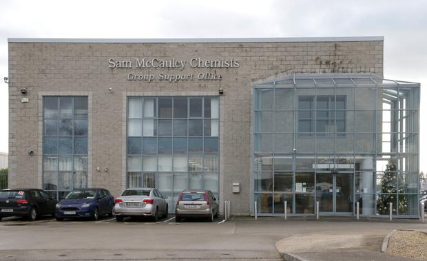 Sam McCauley Chemists head office in Ardcavan