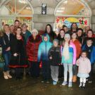 Launch of Nollaig i nGuaire radio programme at the Market House