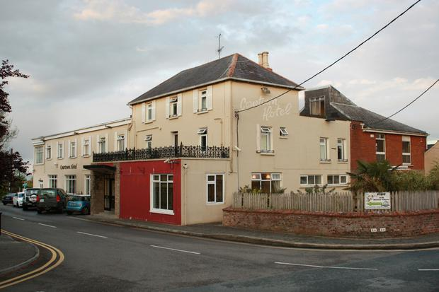 Courtown Hotel is now being used temporarily as emergency accommodation for asylum seekers