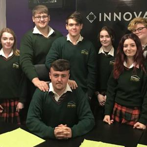 Sixth year students at Gorey Community School who are preparing for their Politics and Society Leaving Cert exam