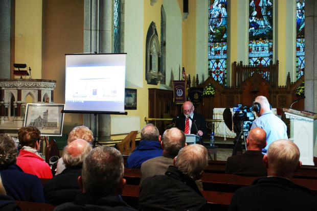 The recent North Wexford Historical Society lecture on Christ Church Gorey, which was delivered by Willie Willoughby