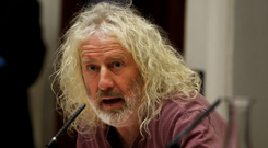 Close call: Mick Wallace is battling to take a seat