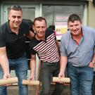 Tony Kehoe Motors' team: Sean Hobbs, captain, Tony Kehoe and Anthony Kavanagh