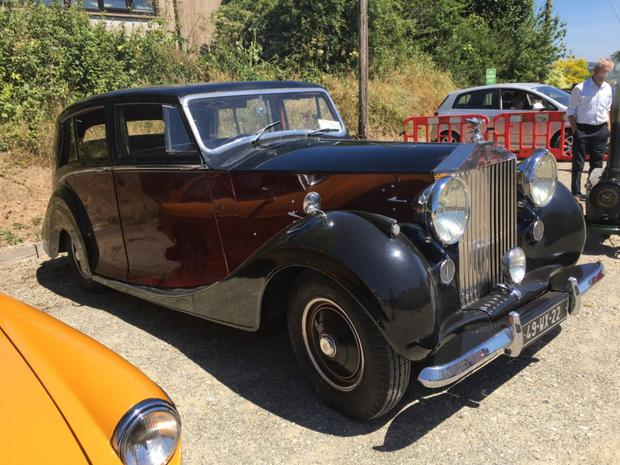 A vintage Rolls Royce will be on display