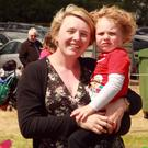 Siobhan Lawrence with her son, Elliott.