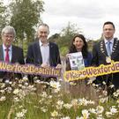 At the launch of Keep Wexford Beautiful at Wexford County Council were John Carley, Hugh McGuire, Cliona Connolly and Cllr Michael Sheehan, chairman, Wexford County Council