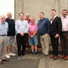 The Freemasons Centre's annual golf classic. Humphrey Spencer, Takis Apostolopoulos, winning team of Sean Halford, John Kinsella, Les Masterson and Brian Spencer with Cathlaoirlach, Cllr Malcolm Byrne, Willie Johnston and Neil Robertson
